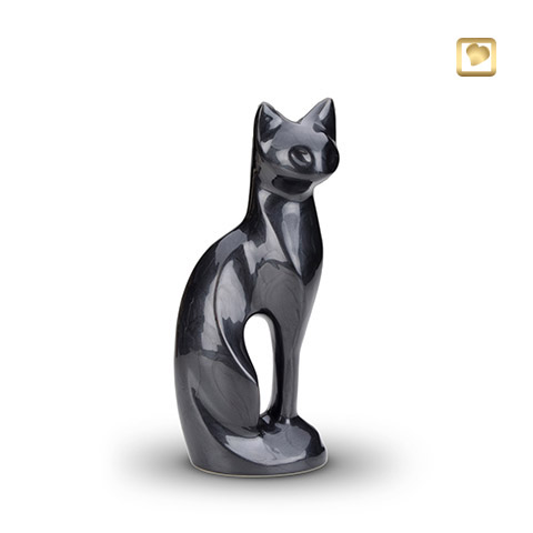 LoveUrns cat black